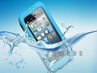 5 Colors Waterproof Case Cell Phone Cases Protector Water Proof Cover for iPhone 4 for iPhone 5