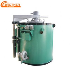 BR-N2 Industrial Steel Parts Heat Treat Gas Nitriding Furnace Pit Type Nitriding Oven