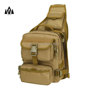 Military Sling Chest Backpack Tactical Daypack Chest Pack for iPad, Large Crossbody Shoulder Bag for Motorcycle Ride Bicycle