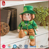 lovely St. Patrick plush doll wholesale China manufacture