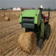 Hot selling round tractor hay crop grass wheat straw bundling machine mini round hay baler machine