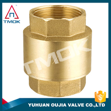 "check valve for faucet 2"" brass body with polishing and ful port and PN 40 high temperature electric machine with 600 wog"
