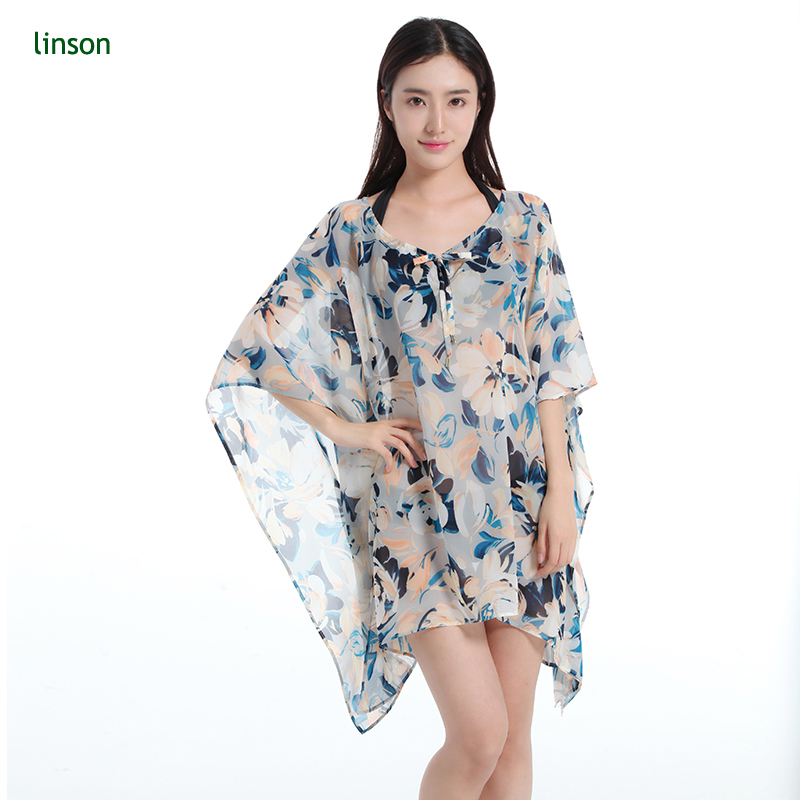 Pure And Fresh Floral Print Custom Made Printing Beautiful Polyester Chiffon Fabric