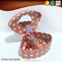 Paper Jewelery Gift Boxes with Round Mirror