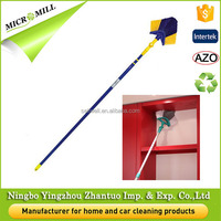 Low price plastic broom to clean ceilings, 180 degree swivel ceiling broom