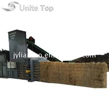 Factory Supply scrap corrugated paper baler cardboard machine for sale with high performance