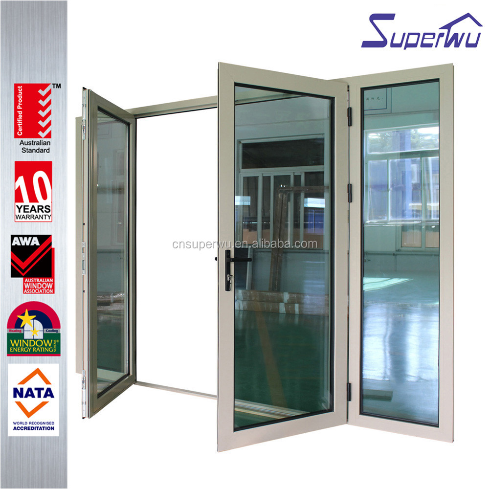WAMA standard China supplier with transom american double entry door