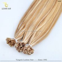 driectly factory price wholesale virgin remy flat keratin tip double drawn hair extension