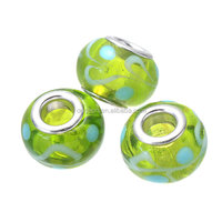 High quality wholesale cheap italy murano lampwork transparent glass beads