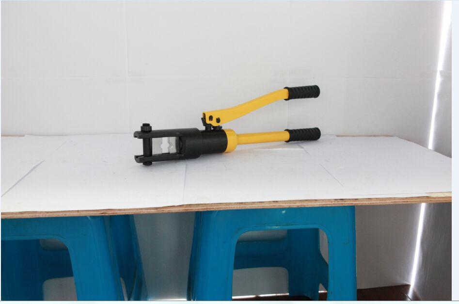 hydraulic crimping tools hhy 300a hand tools power tools hydraulic press hydraulic crimping tool. Black Bedroom Furniture Sets. Home Design Ideas