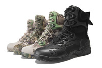 Waterproof Combat suede Military Boot ,A-TACS,,MAG5102 camouflage shoes
