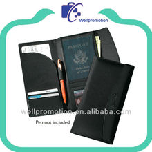 Branded PU leather Travel organizer Wallet