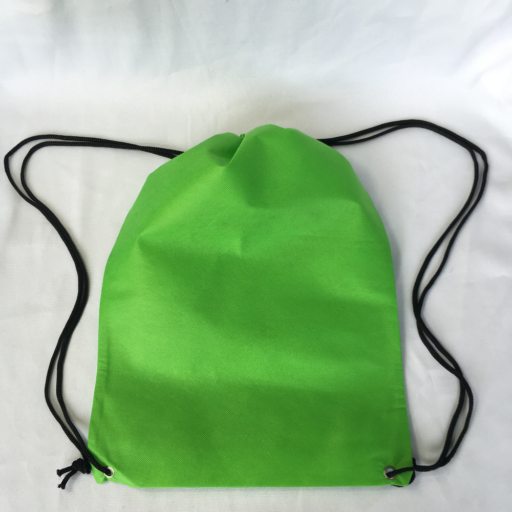 Malaysia Custom Cheap Promotional Non Woven Drawstring Backpack Bags No Minimum
