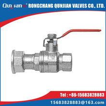 Added meter connector malleable iron natural gas ball valve