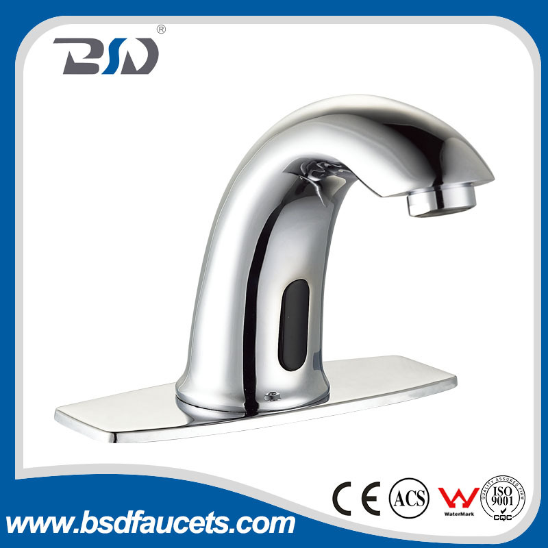 Save Water High Quality Low Price Sensor Automatic Basin Faucets Chrome Sensor Electronic Hand Washing Faucet