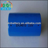 ER34615,size D 1400mah 3.6v lithium dry cell battery