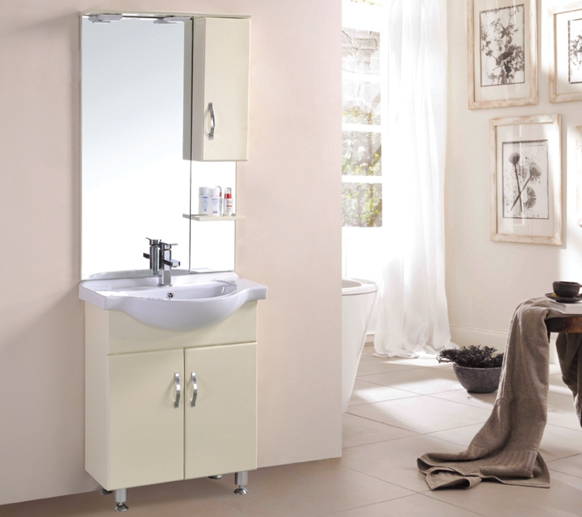 Haotai cheap floor standing mirror red make up bath vanity for Cheap stand up mirrors