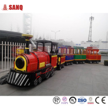 Mini Amusement Trackless Train Rides For School/Outdoor Kids Favorite Trackless Train For Selling