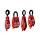 Heavy duty wire rope snatch pulley block for rope lifting