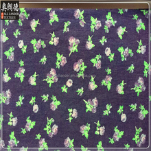 Super soft good hand feel dot printed denim fabric for shirting