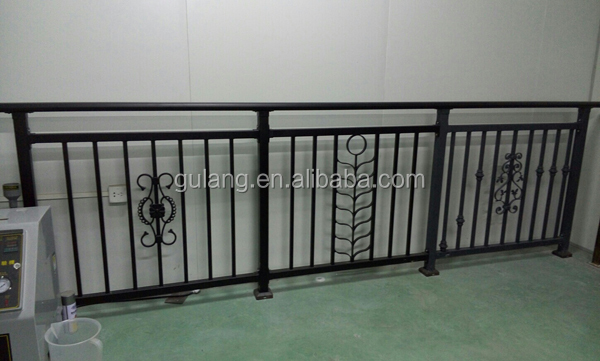 Modern design ms square pipe balcony railing buy balcony for Simple balcony grill design