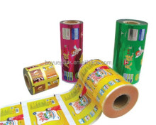 Top quality Food packaging laminated roll film/food grade Metalized packaging film/Aluminum foil laminated roll film