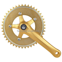 Durable Fixed Gear Bicycle Chainwheel and Crank