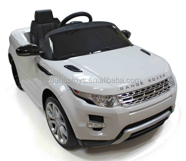 Kids ride on car Land Rover licensed ride on car toy ride cars kids 12 volt