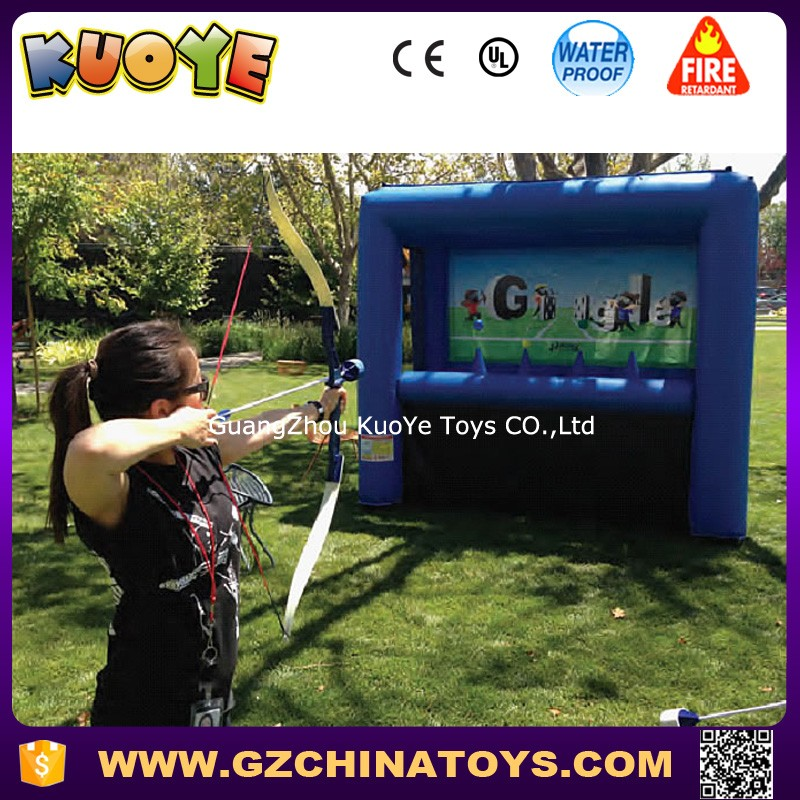 inflatable archery games safe hoverball archery game archery target practice