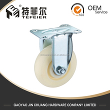 Fixed Plate Industrial Small Caster Wheels Wholesale