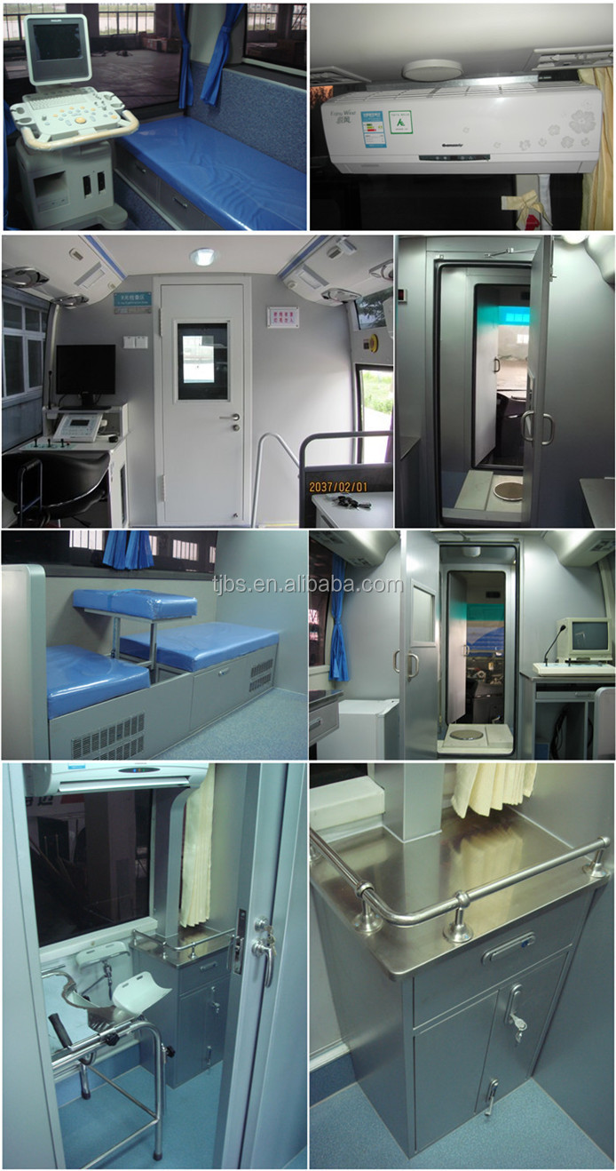 mobile clinic,clinic with x ray machine,mobile clinic bus