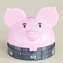 pig shape kitchen dial timers