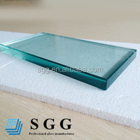 tempered cracked glass 10mm tempered glass
