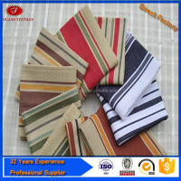 wholesale Kitchen textile poly-cotton stripe cheappest kitchen towel