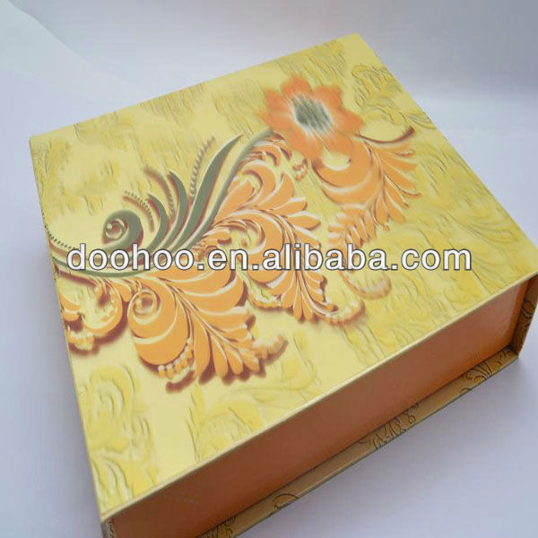 outer box cover with 3d effect
