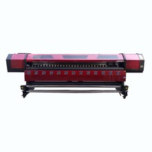 Bannerjet 3.2m dx5/dx7/xp600 heavy duty digital inkjet eco solvent printer polyester textile printing plotter price in india