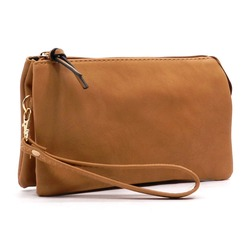 Leather Clutch Wristlet/women clutch bag/women evening bags