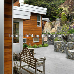 Low cost comfortable luxury mobile prefab container shop