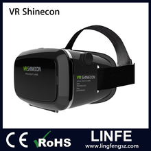 China Cheap VR Fold 3D VR Box Glasses All in One VR Headset with Remote