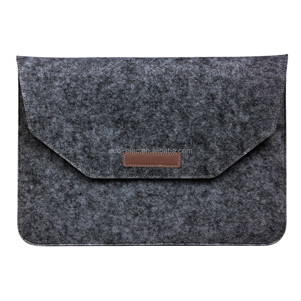 New Fashion Felt Laptop Sleeve Bag Case For MAC Air Pro Retina 11 12 13 15 Laptop Anti-scratch Cover For Mac 13.3 inch Touch Bar