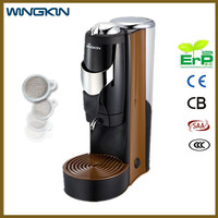 Eco-Friendly car white 110V Italian pump auto brew coffee maker for wholesales