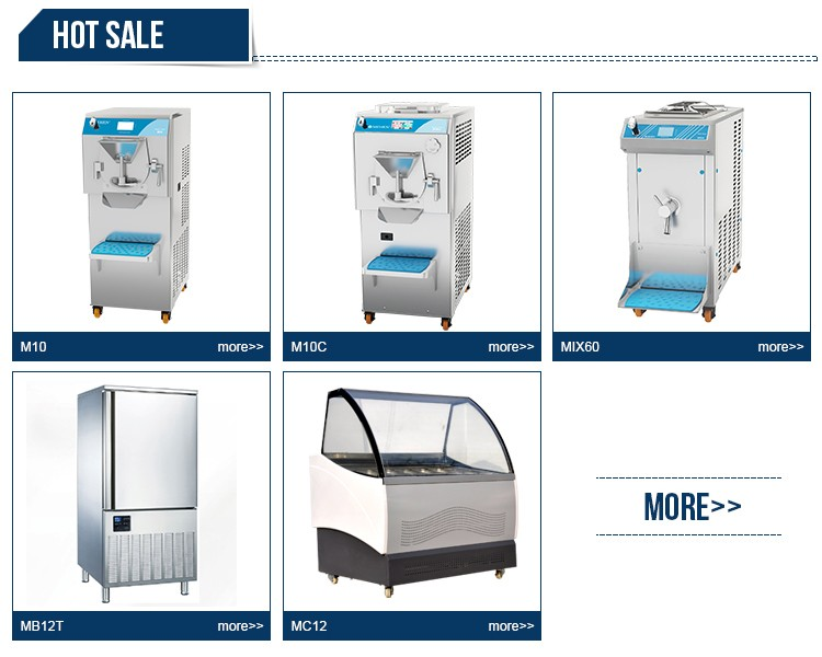 CE certificate hot sale best price commercial gelato making hard ice cream machine