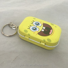 Promotional Gift Coin Holder Keychain Type and Metal Material blank keys