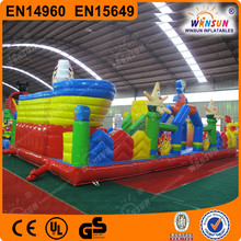 big fun park inflatable toy for kids play land inflatable game