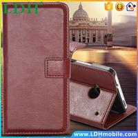 M7 FLOVEME Luxury PU Leather Wallet Case For HTC One M 7 Flip Vintage With Card Holder Deluxe Stand Full Cover Phone Accessories