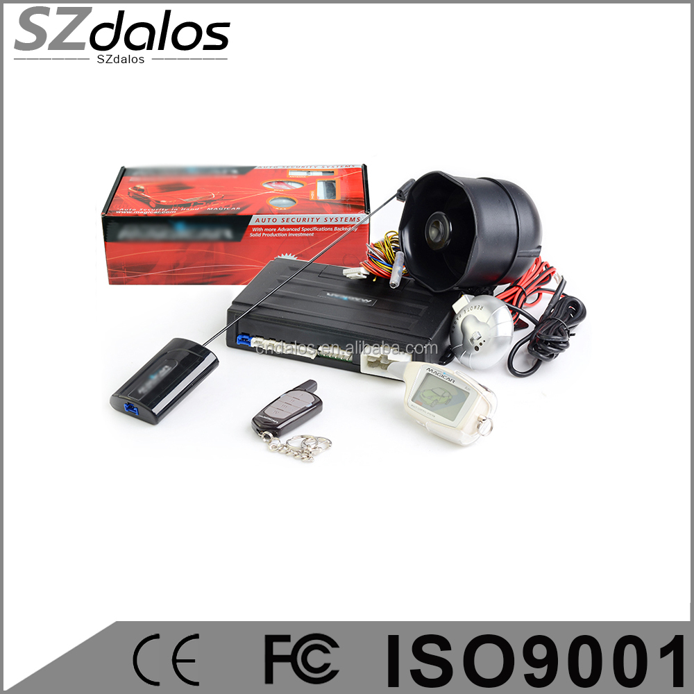 long distance Magicar M903F English version two way car alarm ...