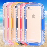 for custom iphone case WS low MOQ competitive price PC waterproof phone case for iphone 6 and iphone 6s