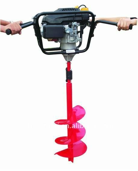 49cc 1.65kw 2-stroke steel earth auger drill