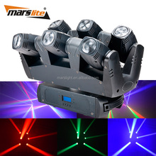 Dj Bar 6pcs 10w Rgbw 4in1 Led Spider Beam Moving Head Light,Led Beam Moving Head Light,Led Spider