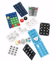 Telecommunication Equipment Application and Silicone Keypad Button machine rubber keypad